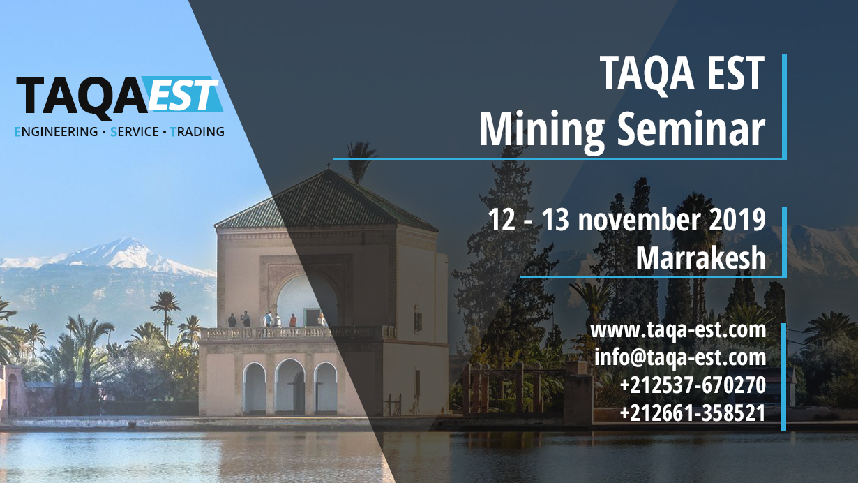 TAQA EST Mining Seminar 2019